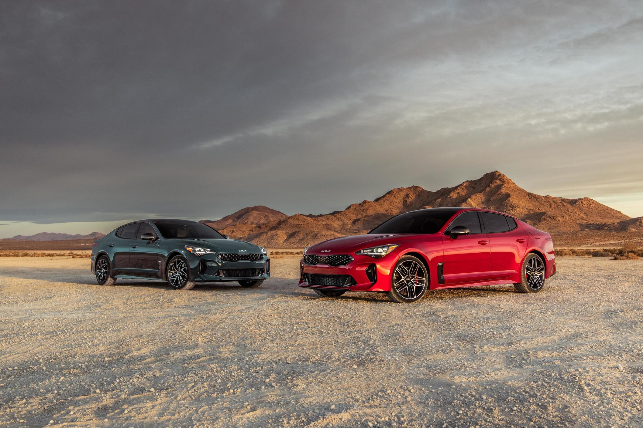 Kia's Proven Sport Machine, the Stinger Evolves with Precise Design, Tech and Performance Upgrades for 2022