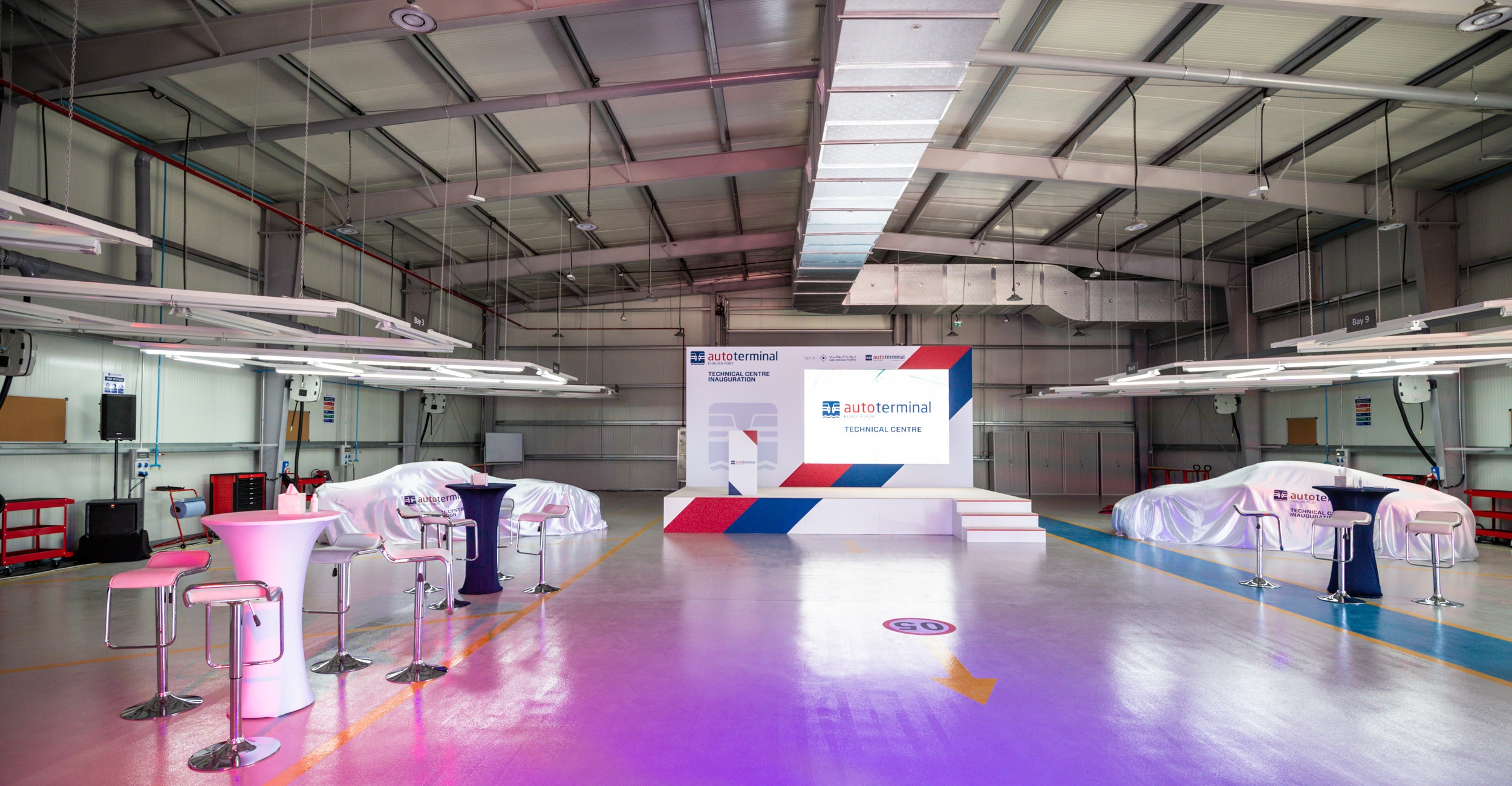 Autoterminal Khalifa Port Launches New Technical Center for Automotive Customers