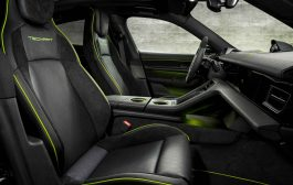 TECHART premium interior refinement for the Porsche Taycan