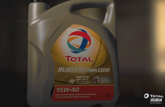 TOTAL Debuts New RUBIA OPTIMA Lubricants Range for Heavy Duty Engines