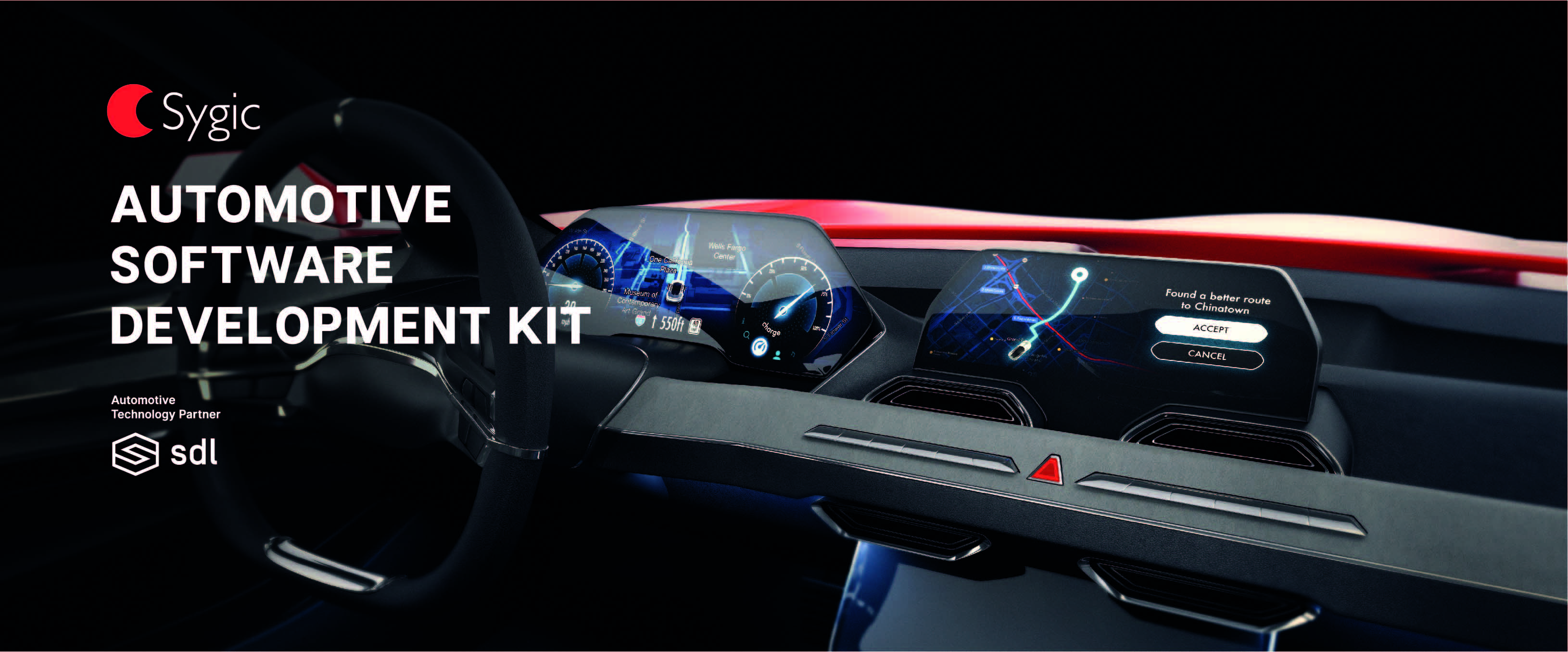 New Automotive SDK from Sygic Brings Mobile Apps Experience to Car's Infotainment Units