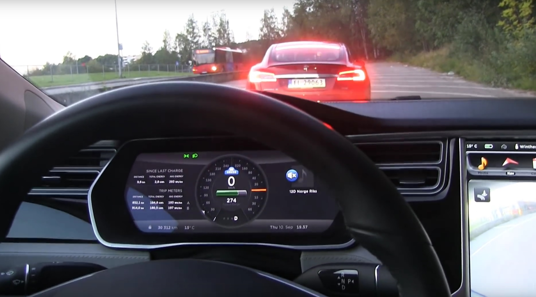 Tesla to Restore Auto-Brakes Through Update
