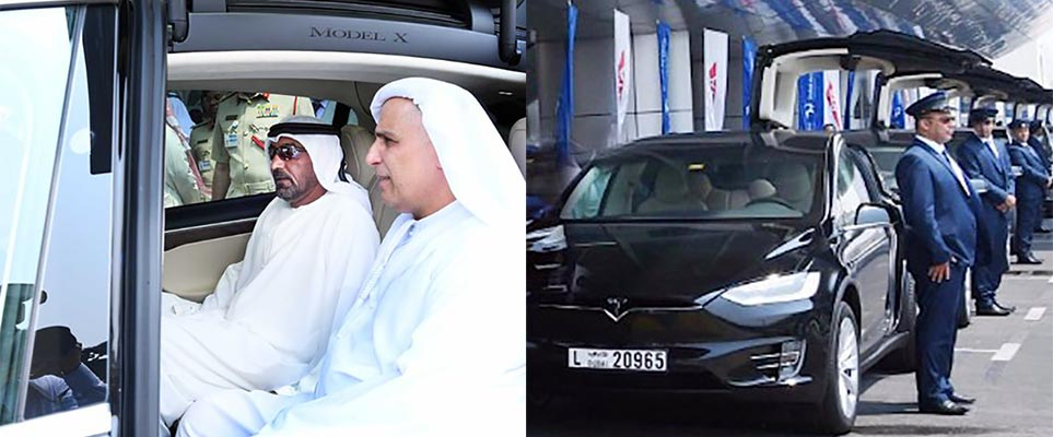 RTA Adds Fifty Teslas to Taxi fleet