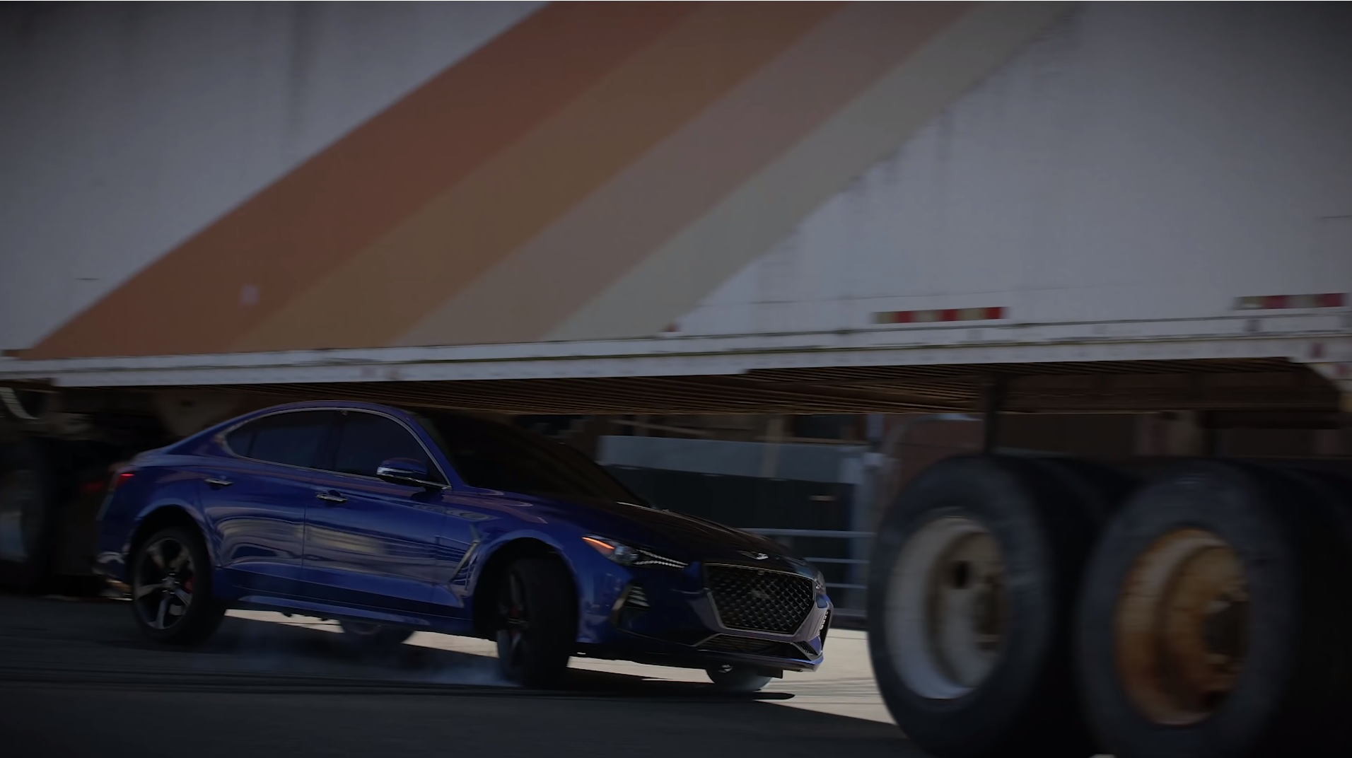 "Genesis G70 Recreates Famous Fast & Furious Scene ""The Art of the Stunt"" Test"
