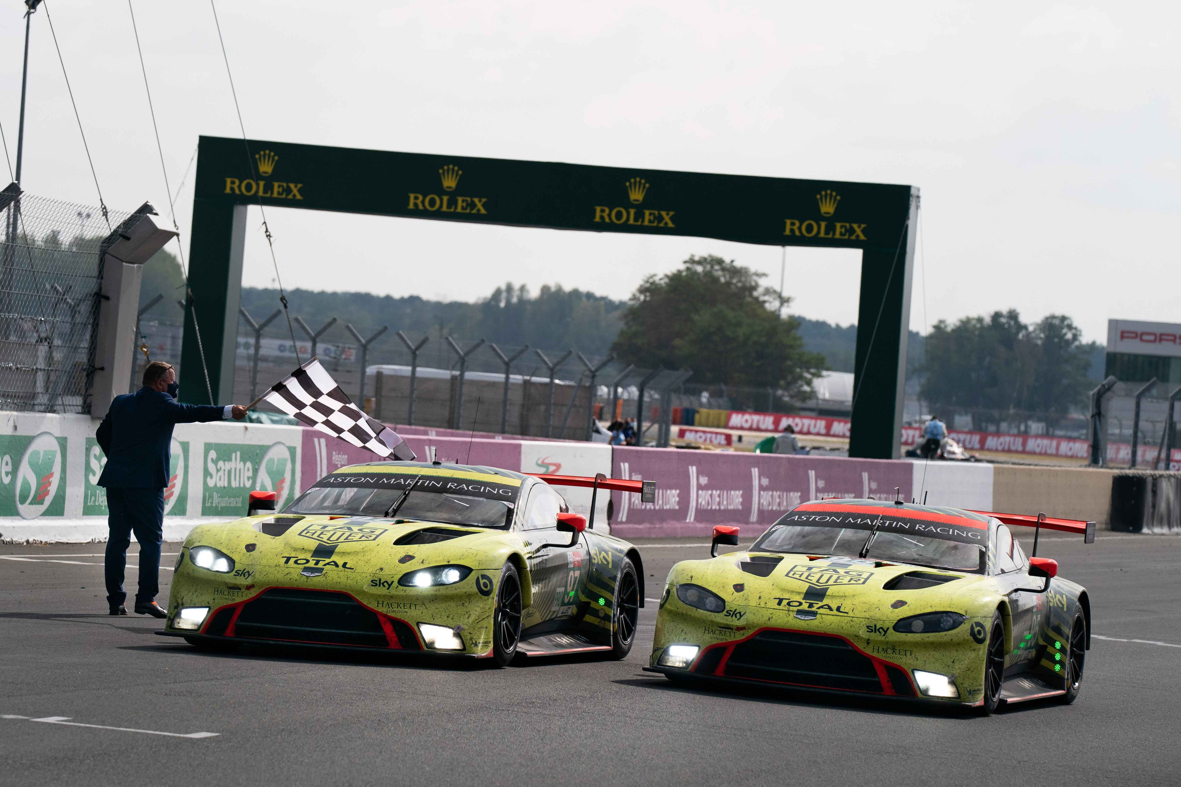 Aston martin wins the 24 hours of le mans and clinches the wec manufacturers' title
