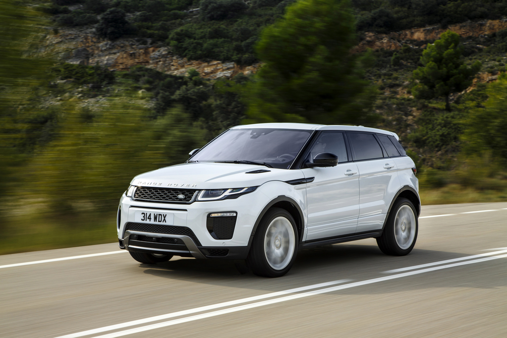 JLR Launches New Range Rover Evoque