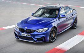 BMW M Presents Limited-run Special-edition BMW M3 CS