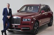 Rolls-Royce Ceo Honoured In Leading European Automotive Industry Awards