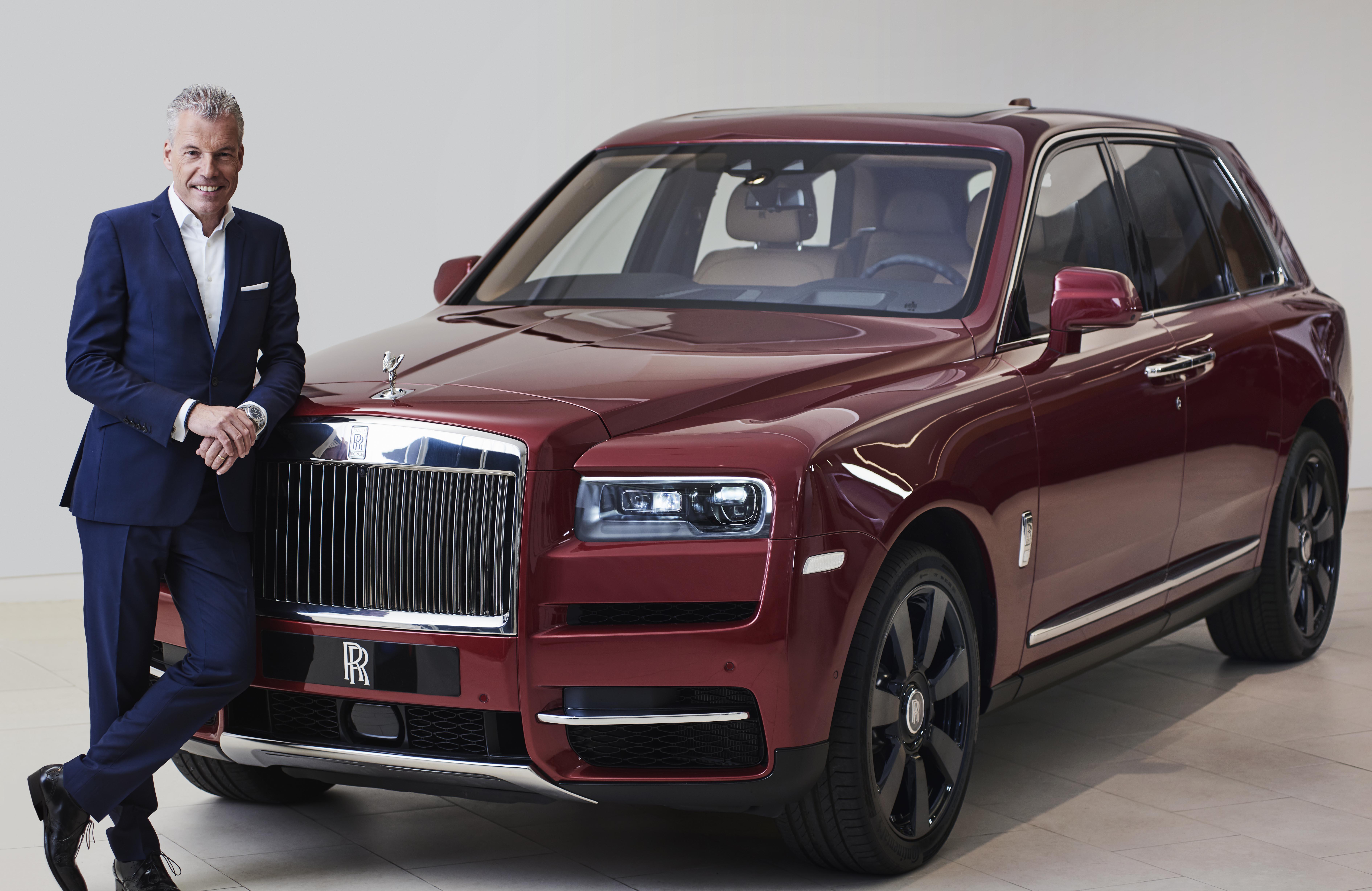 Rolls-Royce Ceo Honoured In Leading European Automotive Industry Awards