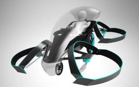 Toyota Files Patent for Flying Car Design