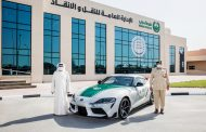 Dubai Police Bolsters Toyota Fleet with Addition of Legendary all-new 2021 Toyota GR Supra