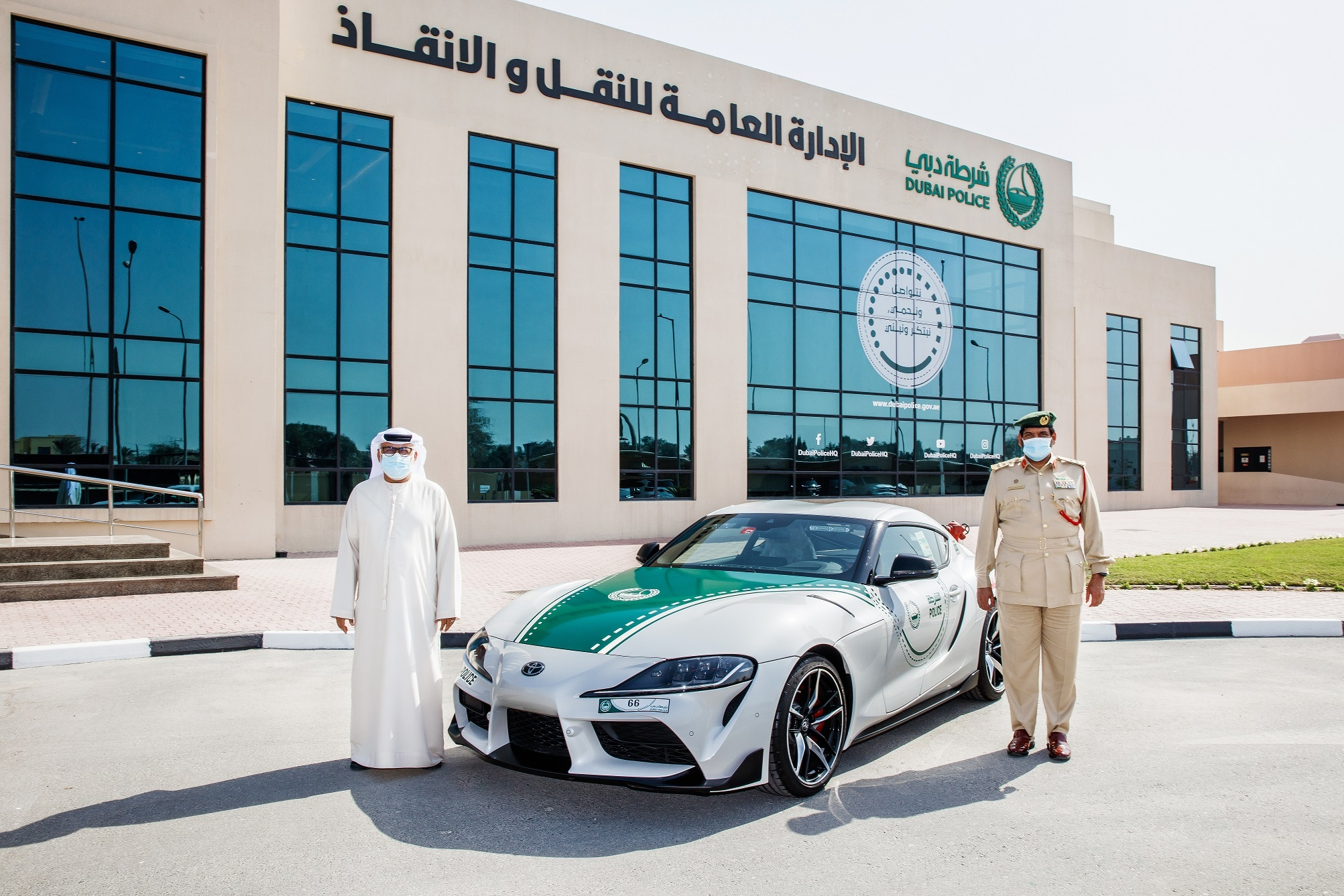 Dubai Police Bolsters Toyota Fleet with Addition of Legendary all-new 2021 Toyota GR Supra
