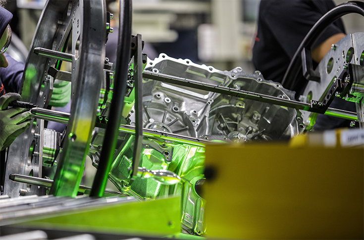 Toyota Begins Production of Hybrid Electric Transaxles in Poland