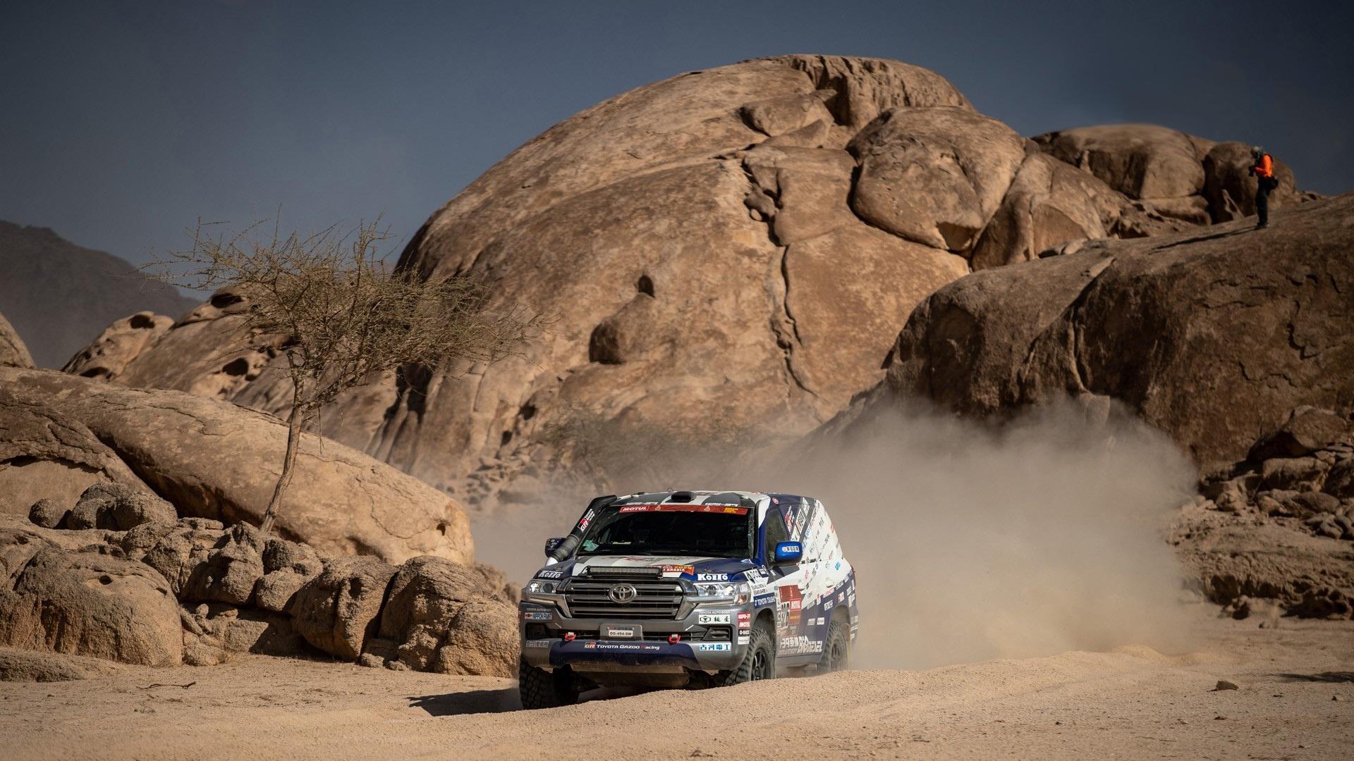 Toyota celebrates another outstanding performance at Dakar 2021 in Saudi Arabia