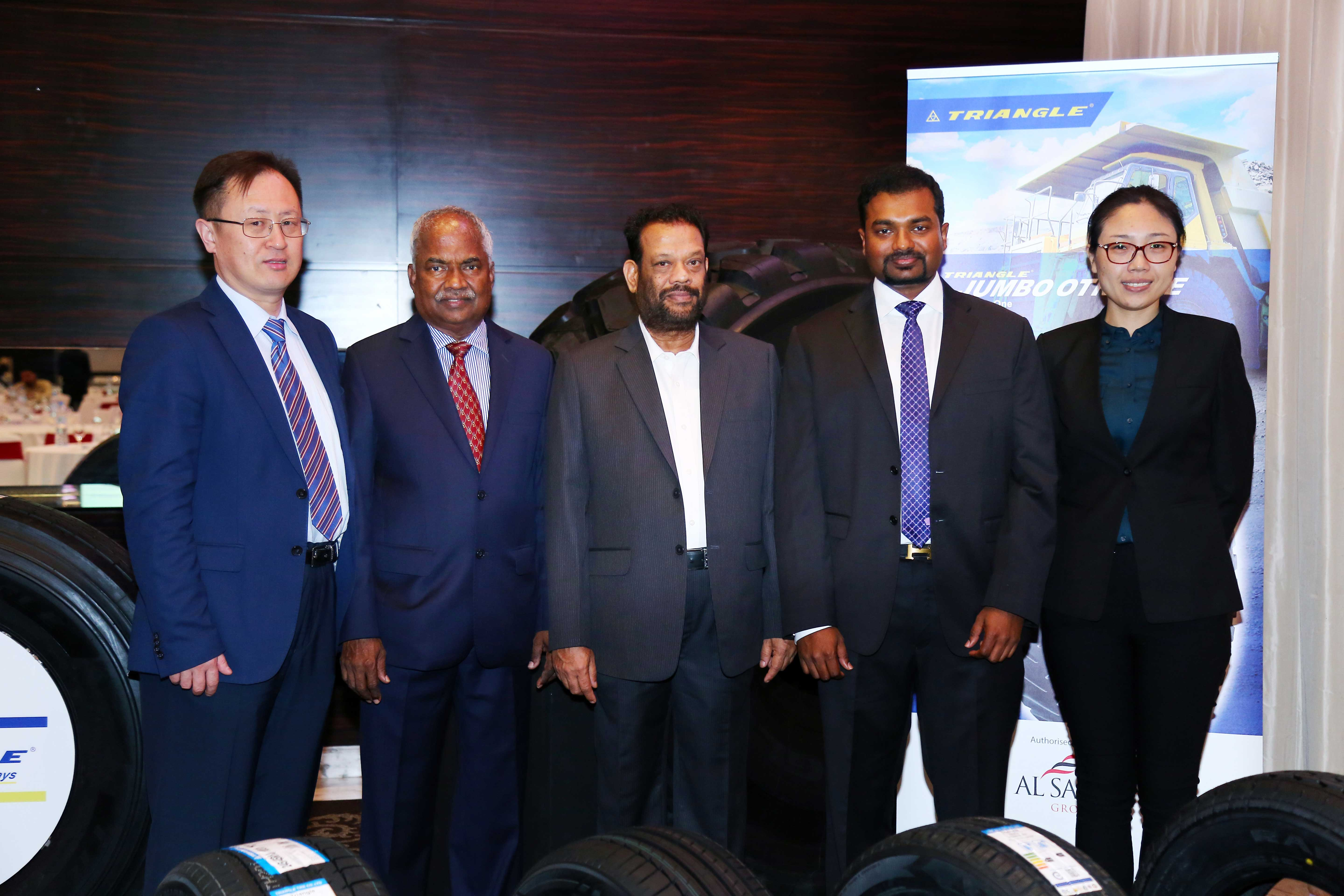 Al Saeedi Group Holds Customer Meet for Triangle Tires