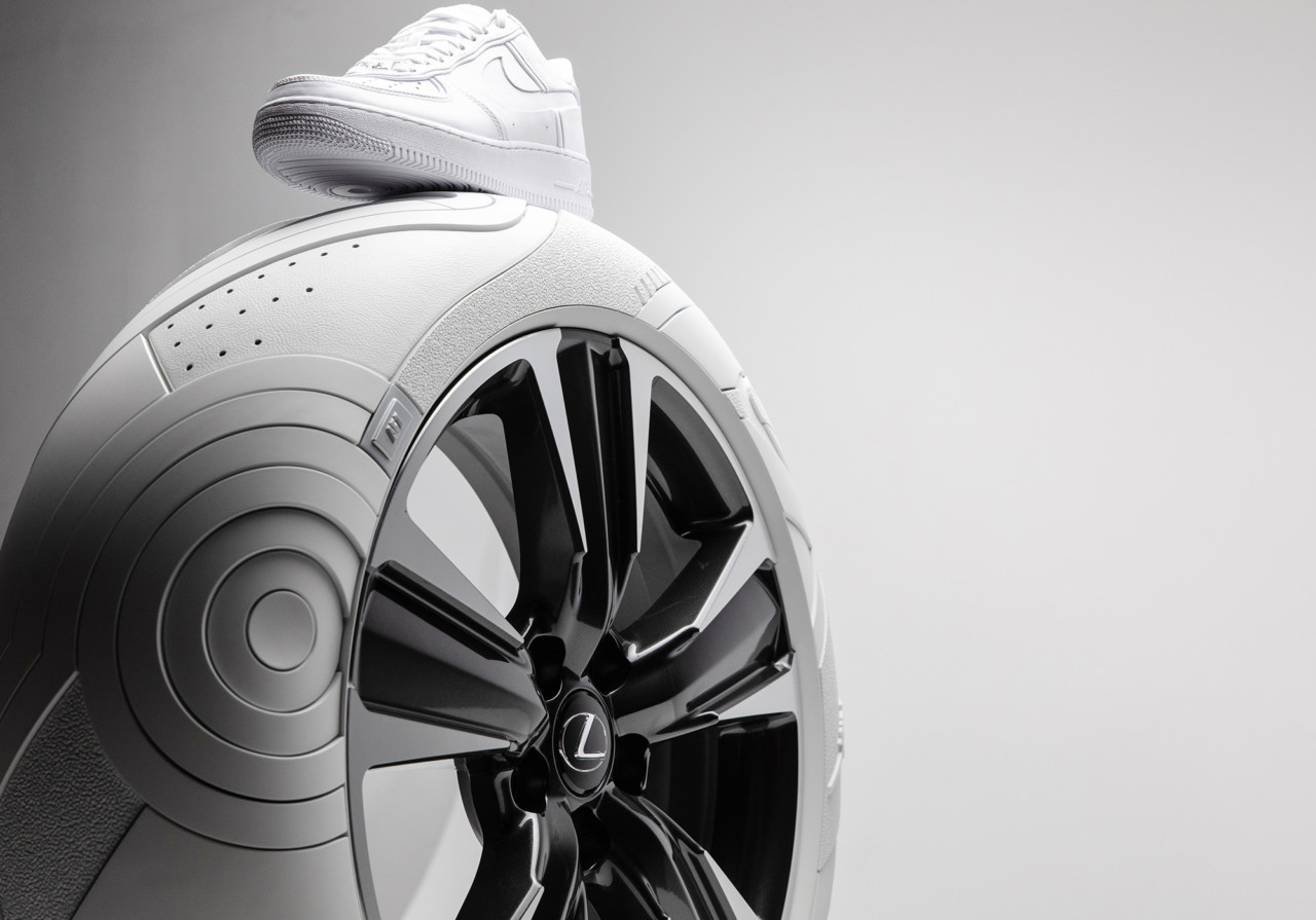 Lexus Designs Concept Tires Inspired by AF1 Sneaker