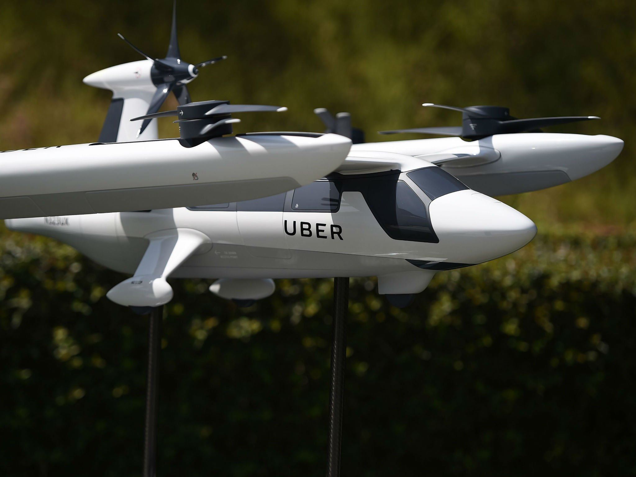 Uber Partners with US Army on Flying Car Technology