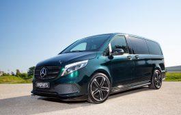 """Mercedes-Benz e-Vito VP Spirit """"silent dynamic"""" & V 300 d VP Spirit Mk II"""