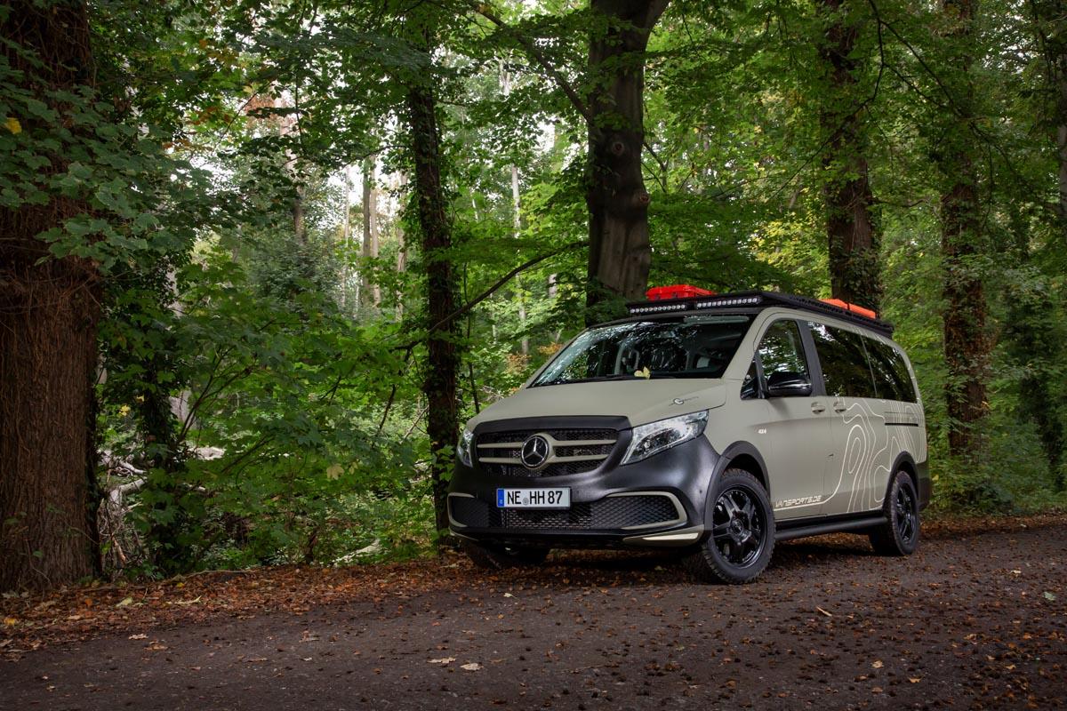 """Mercedes-Benz V 300 d 4MATIC VP Gravity """"GEOTREK EDITION"""""""