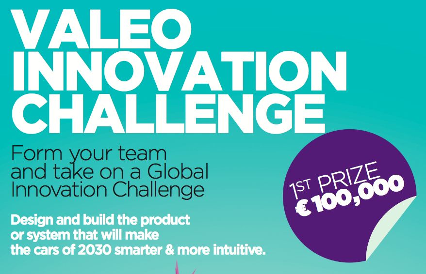 Almost 5000 Students Submit Entries for 2017 Valeo Innovation Challenge