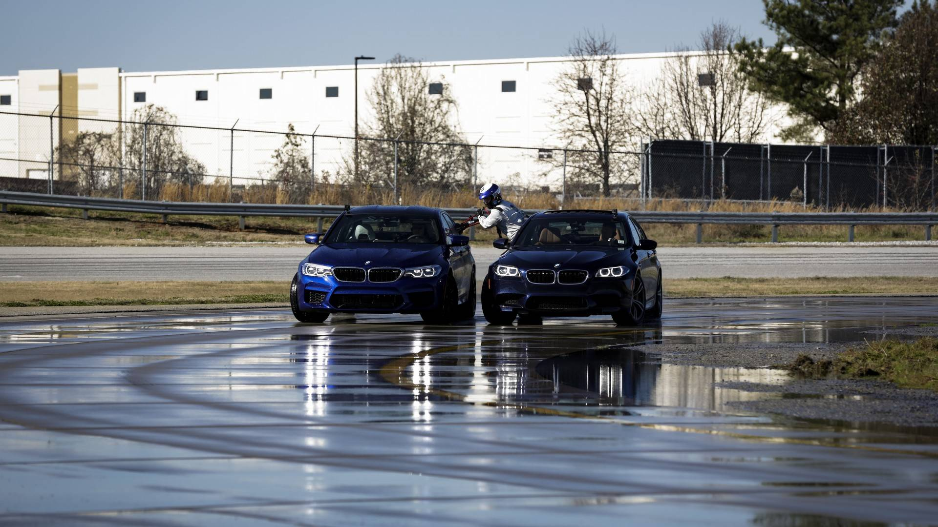 BMW M5 Breaks Record for Longest Drift