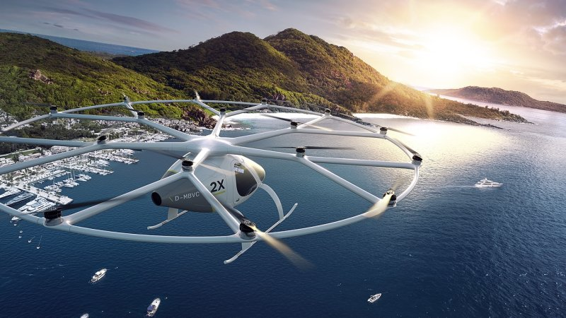 Daimler Invests in Startup Making Flying Taxis for Dubai
