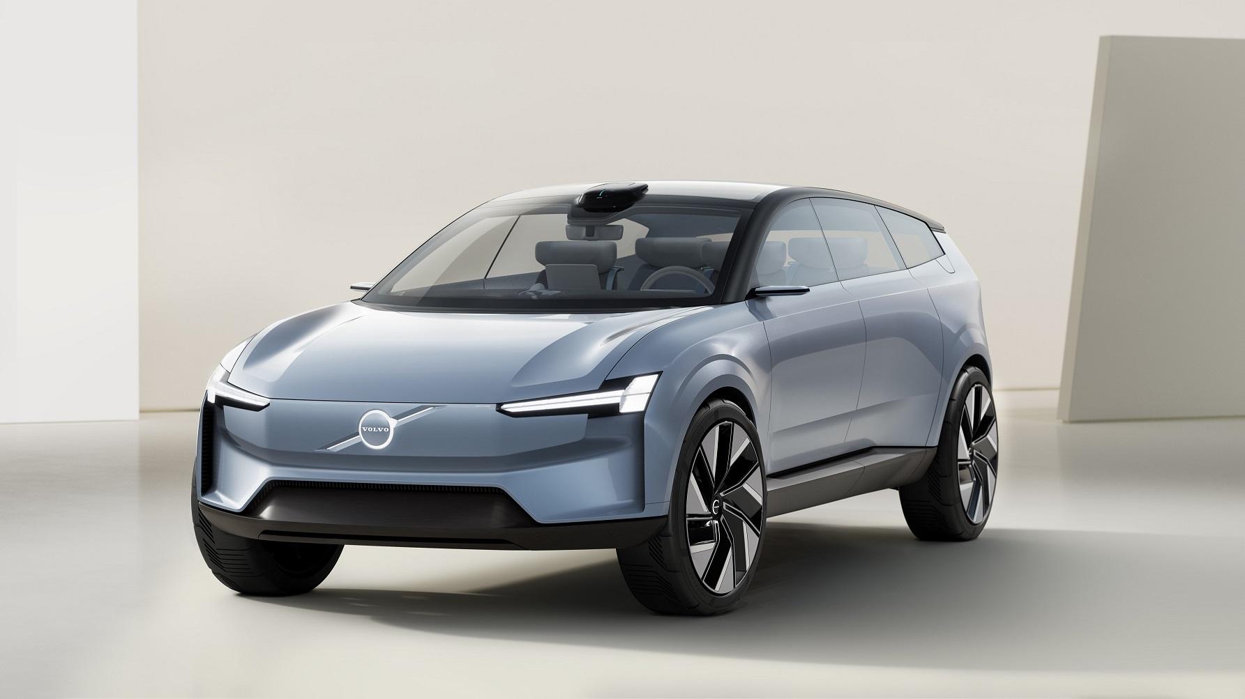 The Volvo Concept Recharge is a manifesto for Volvo Cars' pure electric future