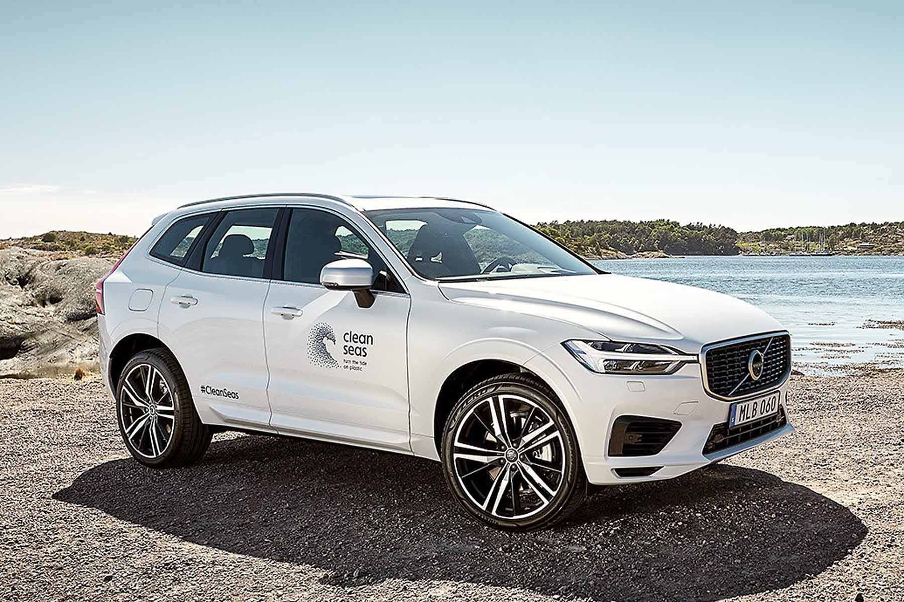Volvo Sets Target of 25 Percent Sustainable Plastic in Cars by 2025