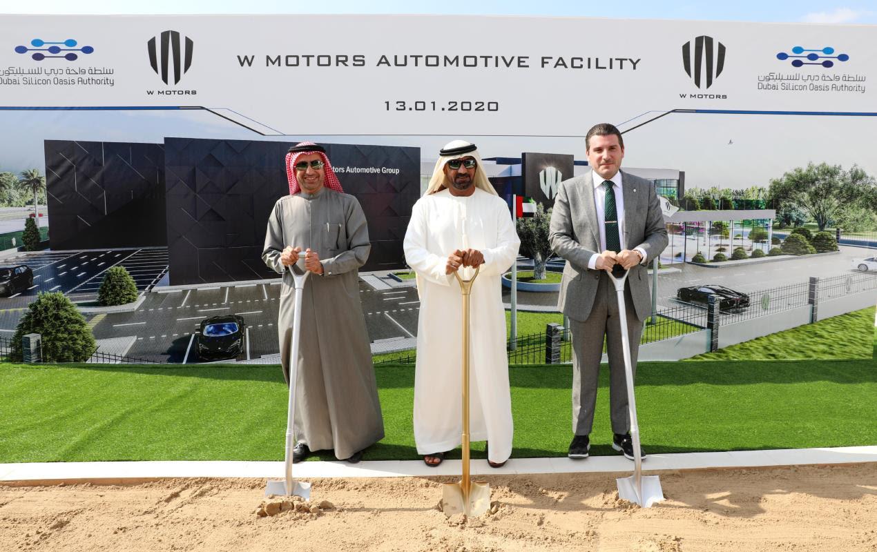 W Motors Begins Work on New USD 100 Million Facility in Dubai Silicon Oasis
