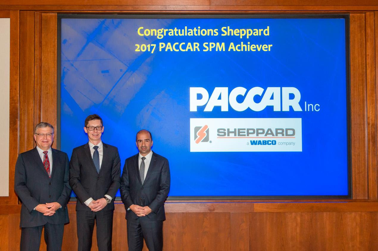 WABCO Company Receives Supplier Performance Management Achiever Award from PACCAR