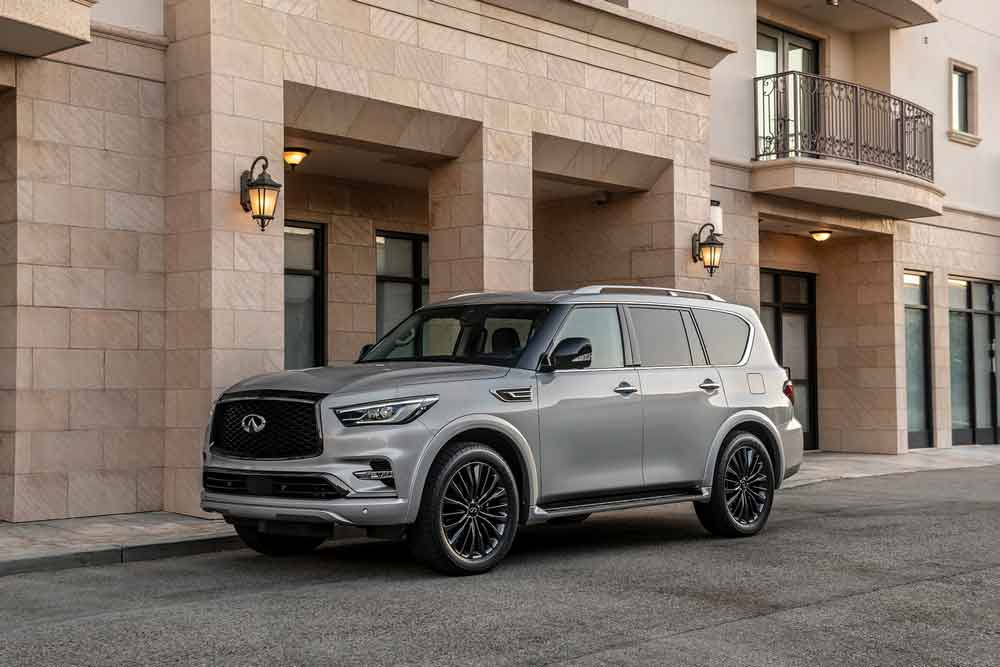 The 2021 Infiniti Qx80 Debuts In The Middle East