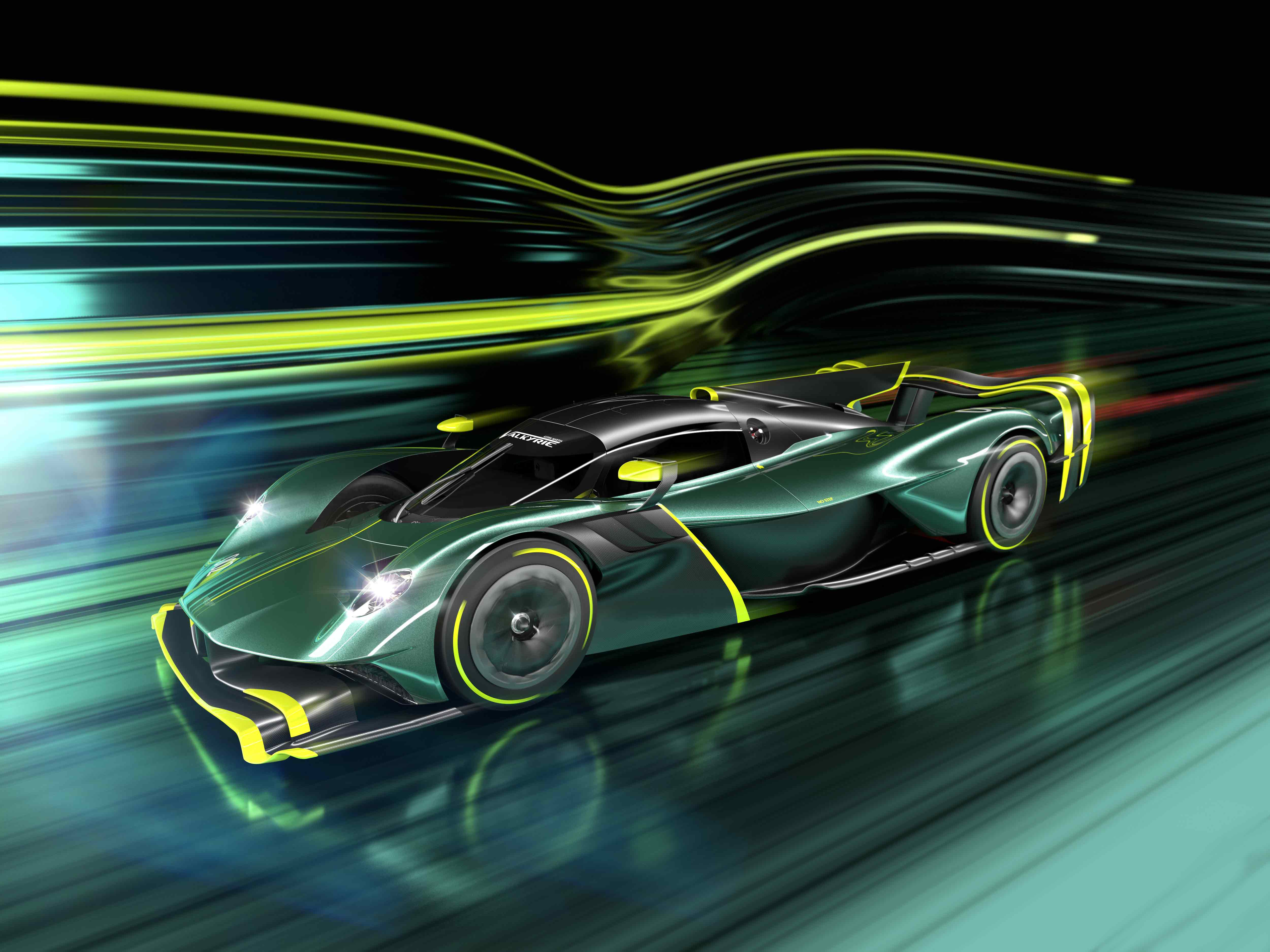Aston Martin Valkyrie AMR Pro the ultimate no rules Hypercar