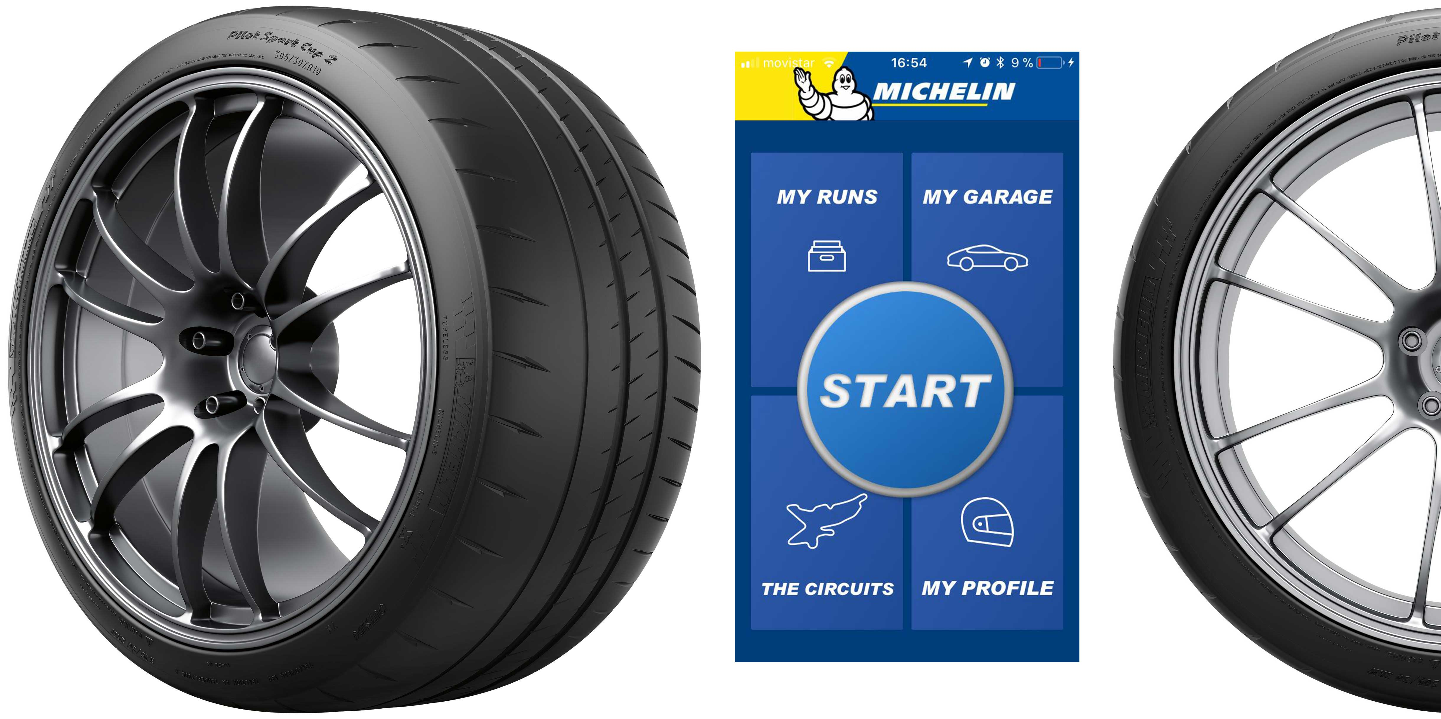 Michelin brings on-track performance and data to the Middle East with new smartphone app and advanced range of next-gen tyres