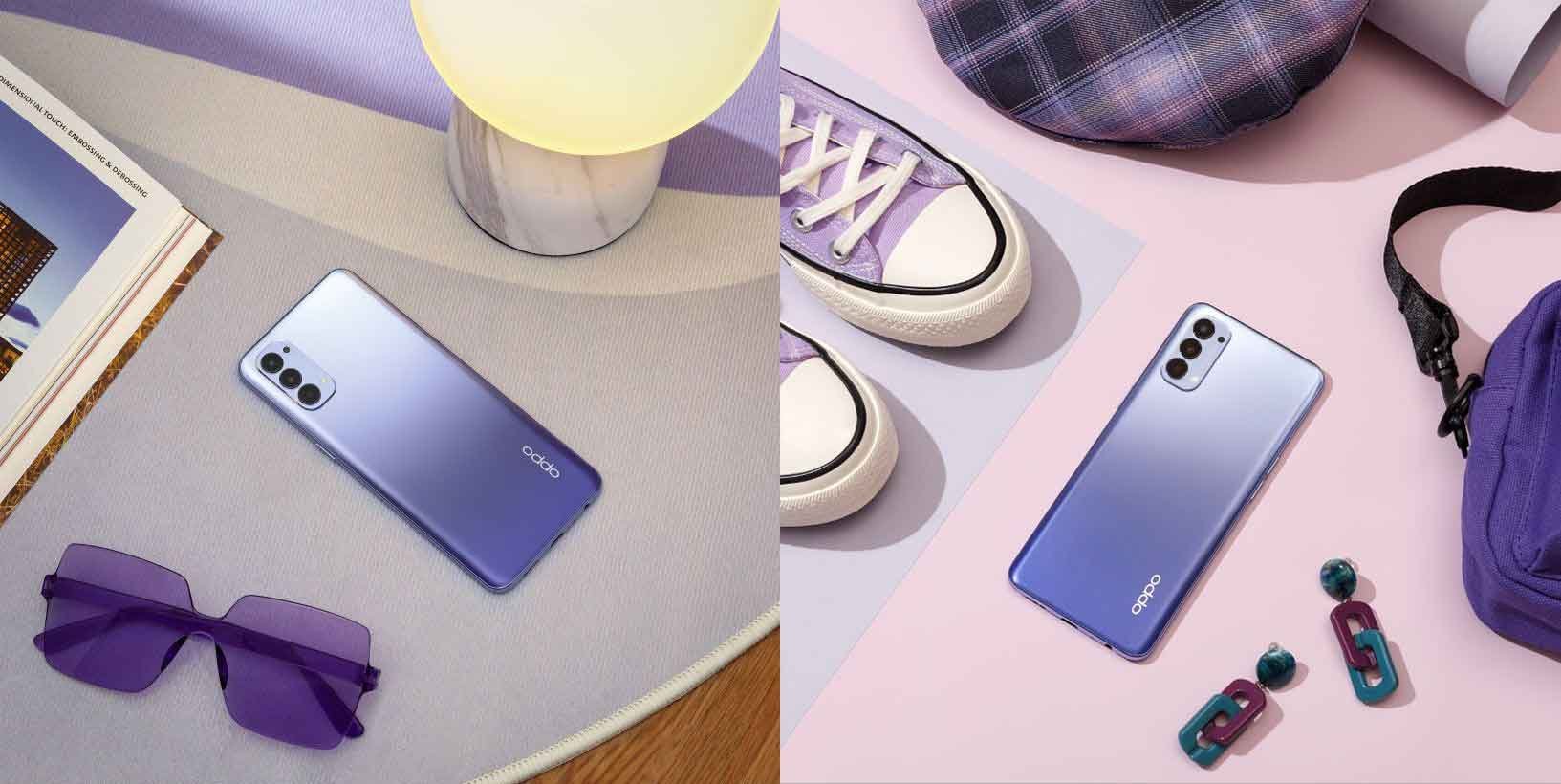 OPPO expands Reno4 offerings in the region with a new trendsetting colour variant