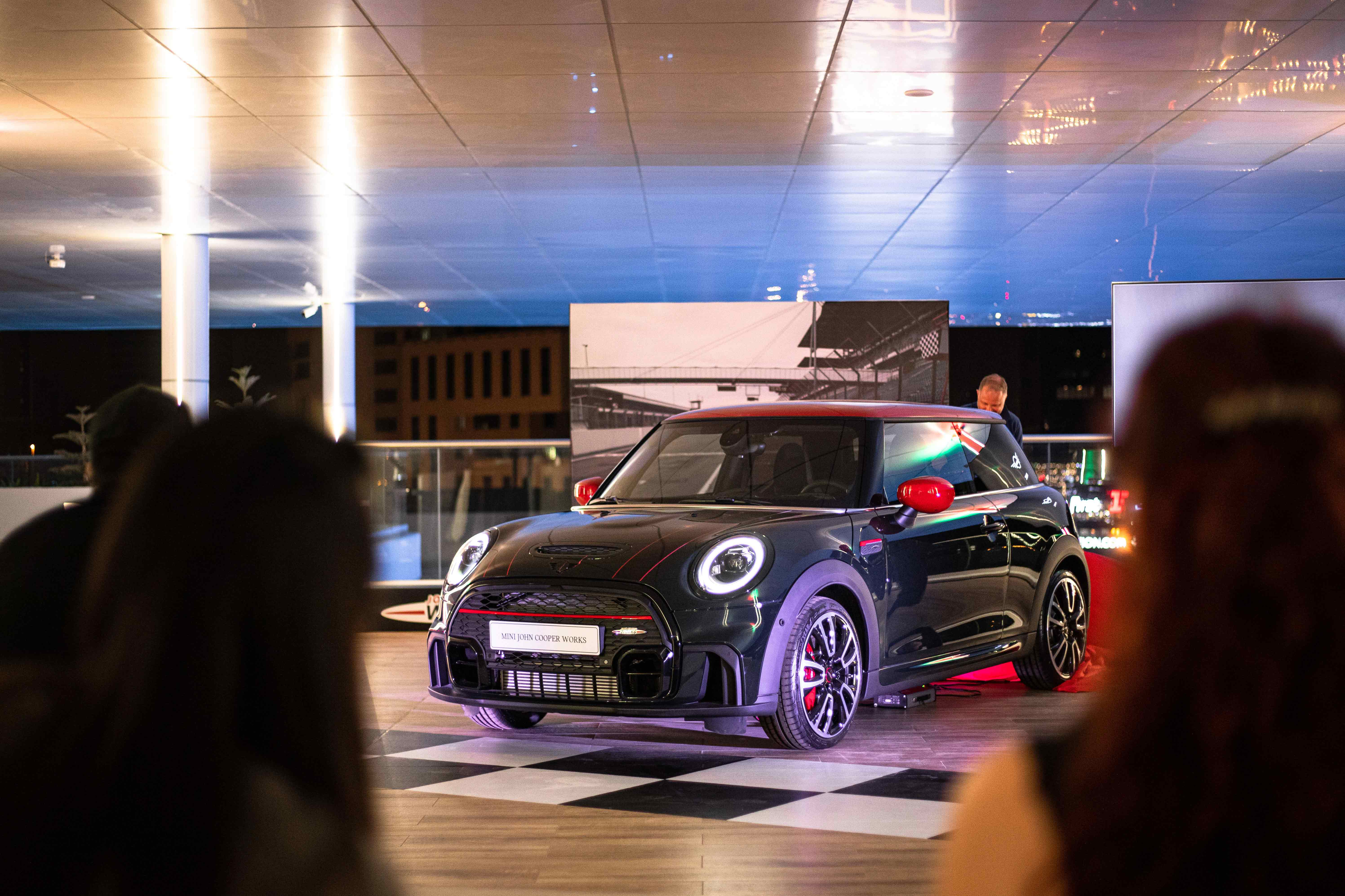 The MINI John Cooper Works 3-Door Hatch is now at AGMC