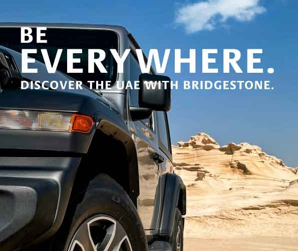 Bridgestone encourages UAE residents to discover country landmarks through 'Be Everywhere' campaign