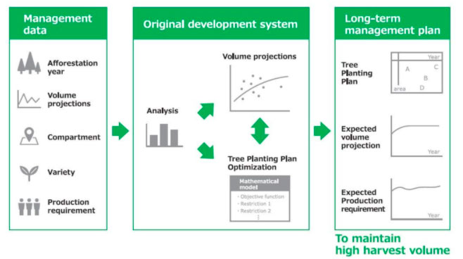 Bridgestone Leverages Big Data to Implement Optimal Plantation for Higher Yield in Para Rubber Tree Farms
