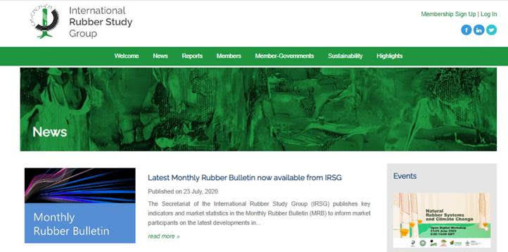 Latest World Rubber Industry Outlook now available from IRSG