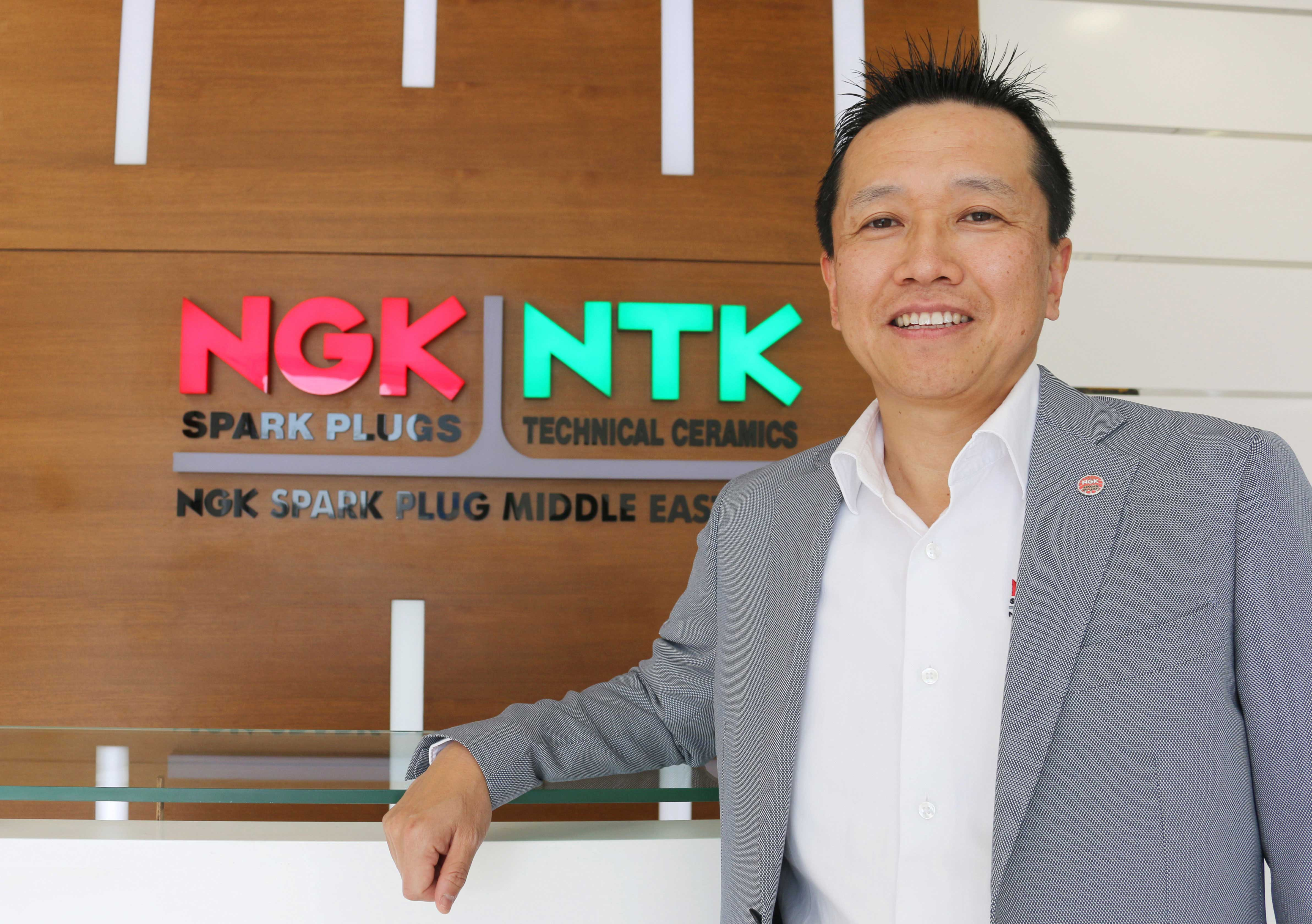 Interview ith Yoshihiro Goto - Managing Director, NGK Spark Plug Middle East fZE