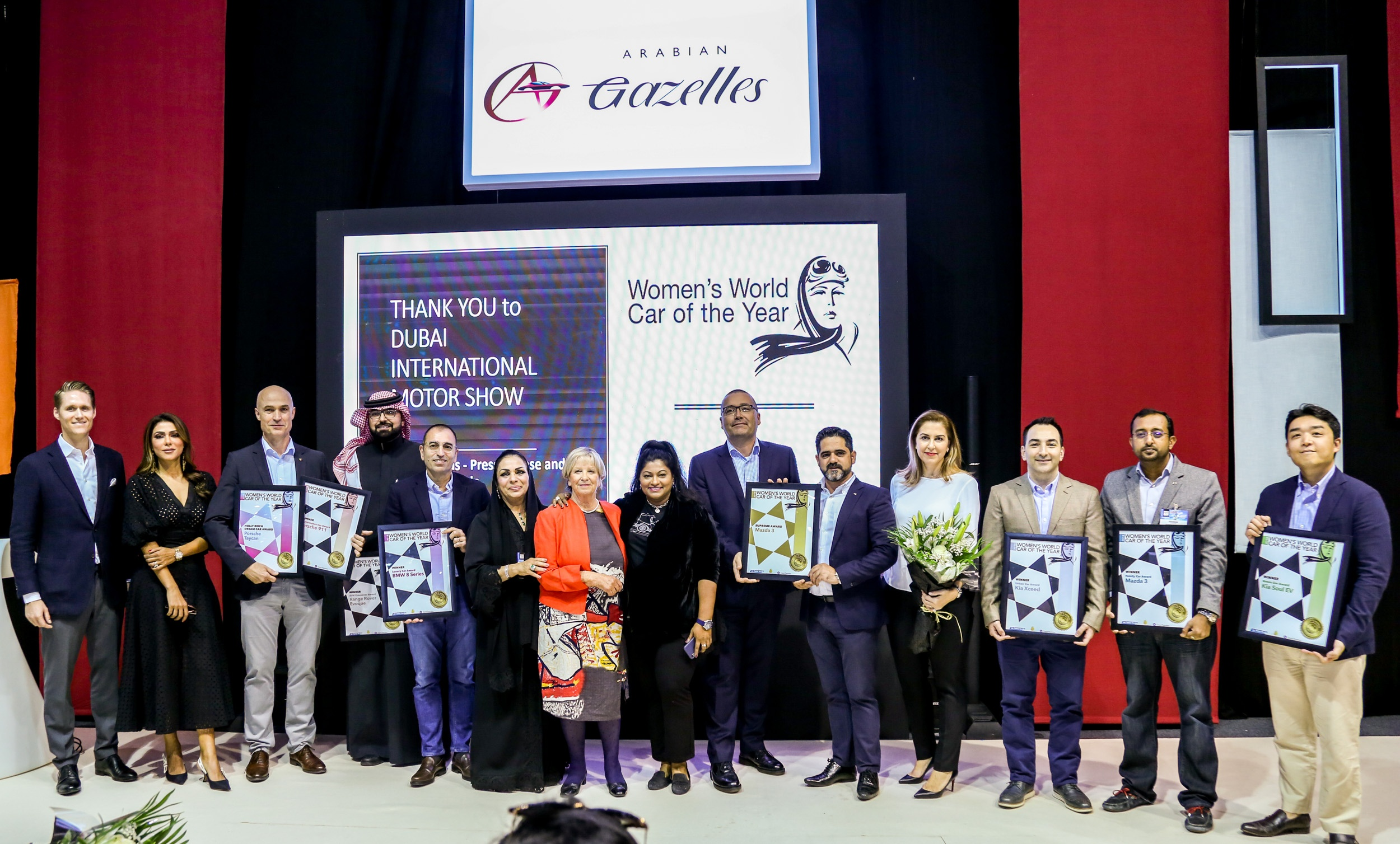 Women's World Car of the Year 2019 Awards Announced at Dubai International Motor Show