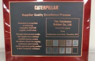 Yokohama Wins Platinum Supplier Award from Caterpillar