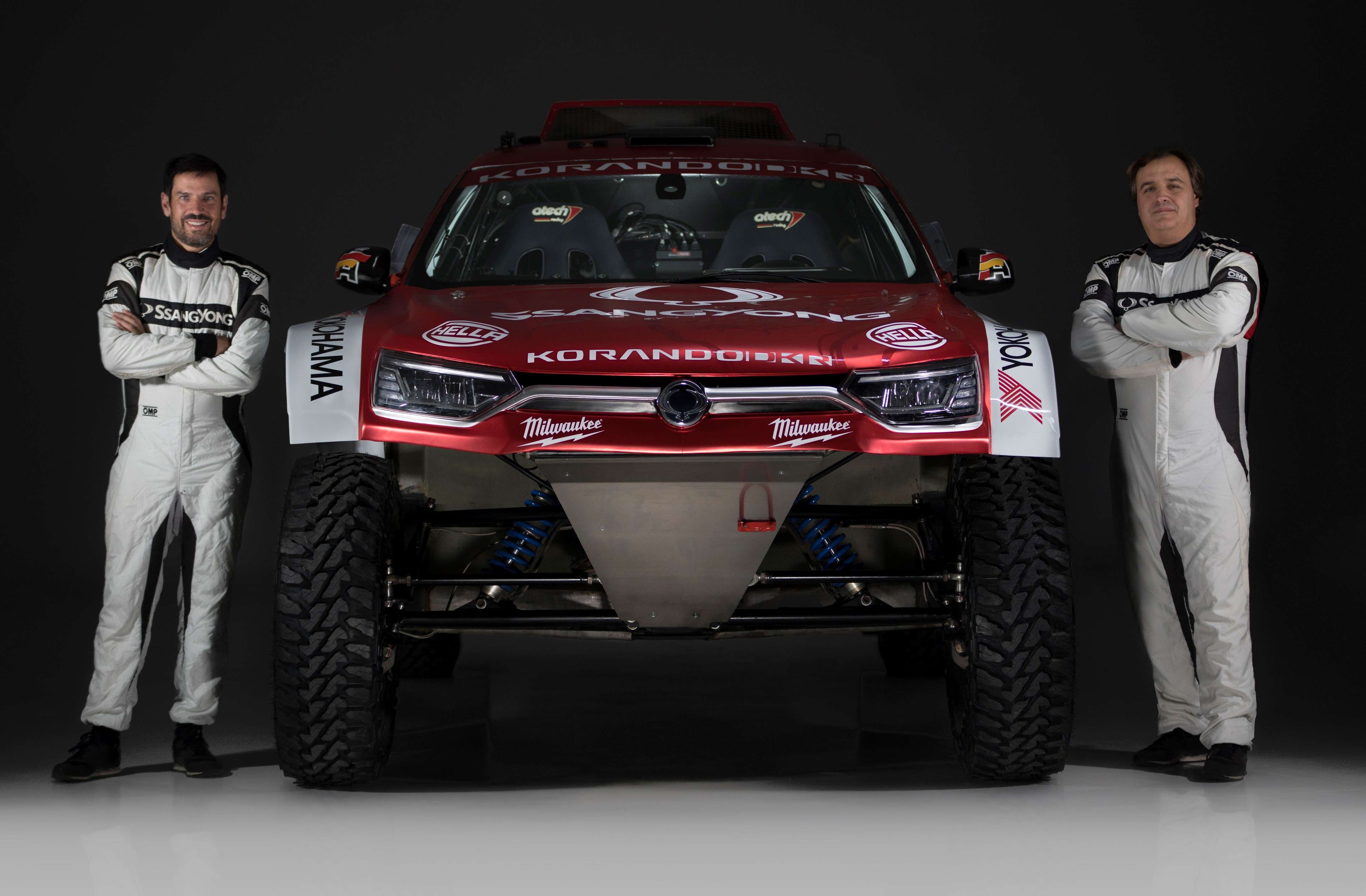 Car with Yokohama Geolander Tires to Compete in 2020 Dakar Rally