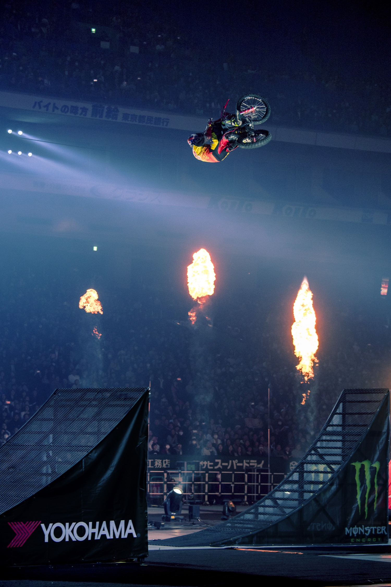 Yokohama Exclusive Tire Partner for Nitro Circus Event