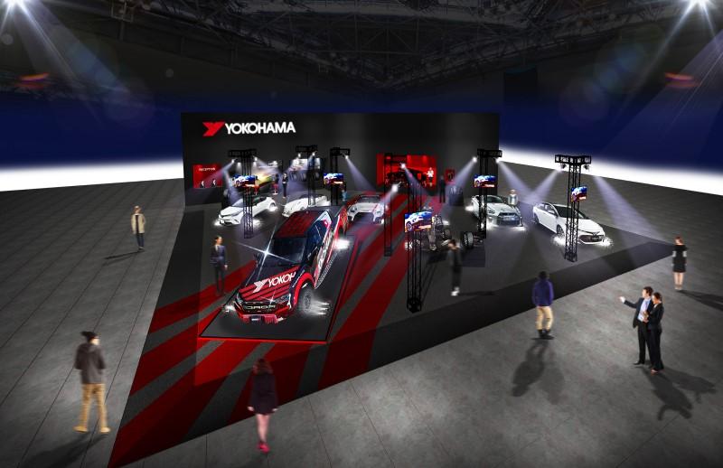 Yokohama Rubber to Exhibit at Tokyo Auto Salon 2019