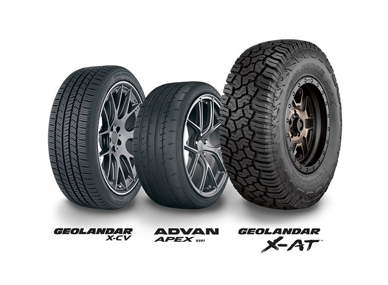 Yokohama Make Clean Sweep of SEMA New Product Awards Tire Category