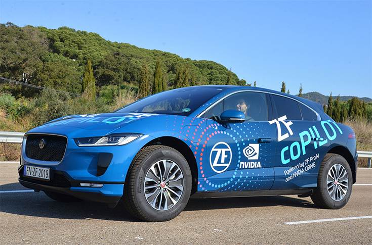 ZF Launches Level 2+ Automated Driving System