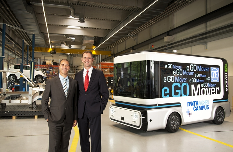 ZF Teams up with e GO Mobile to Make and Sell Autonomous Vehicles
