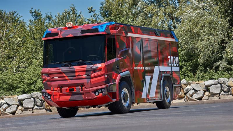 Volvo Penta electric driveling is a game changer for the fire truck of the future