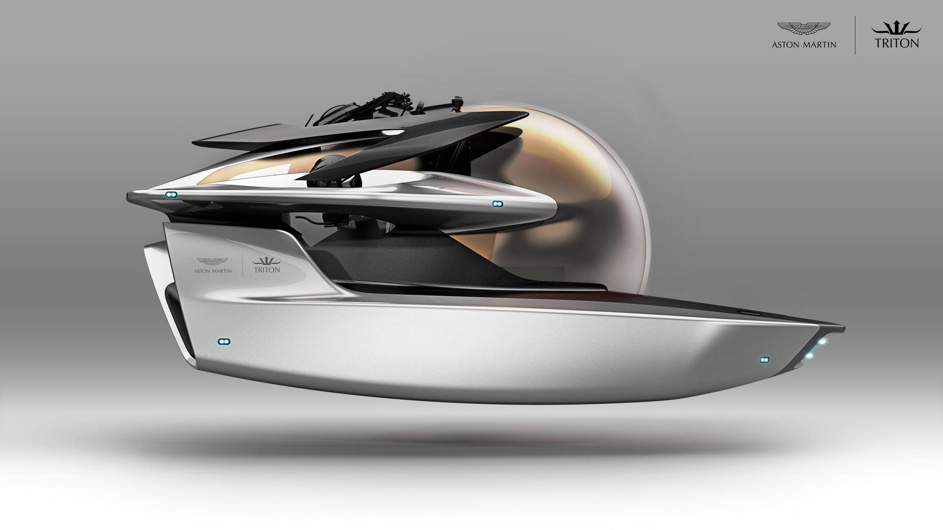 Aston Martin Forays into New aspects of Luxury with Submersibles