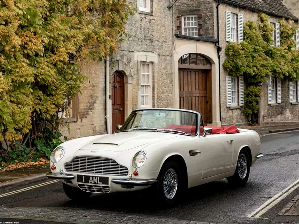 Aston Martin Develops Kits to Convert Classics into EVs